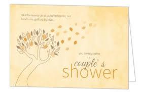 couples wedding shower invitation wording fall bridal shower ideas themes invitations wording favors decor