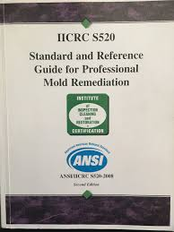 ansi iicrc s520 2008 standard and reference guide for professional