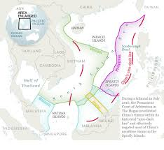 South China Sea Map by The South China Sea Dispute Is Decimating Fish Stocks