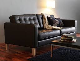 ikea black leather sofa ikea leather sofa stockholm 35 seater in kino taupe ikea karlstadt