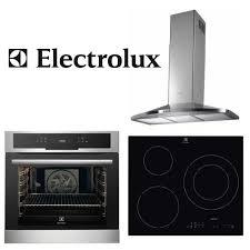 pack electromenager cuisine pack electrolux encastrable four hotte plaque achat vente