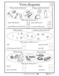 venn diagrams part 2 math worksheets pinterest venn