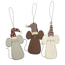 Christmas Mice Decorations 258 Best Christmas Ornaments Animals Images On Pinterest