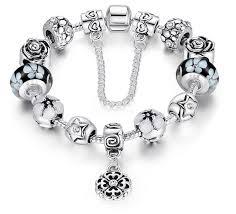 white charm bracelet images Charm bracelet uk jpeg