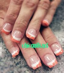 best 20 colored french tips ideas on pinterest french tip toes