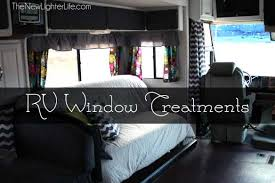 Replacement Pop Up Camper Curtains Rv Window Treatments The New Lighter Life