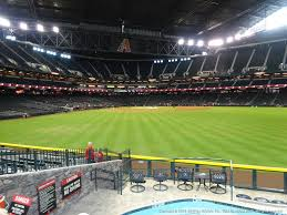 Diamondbacks Stadium Map Arizona Diamondbacks Chase Field Seating Best Seats At Chase Field
