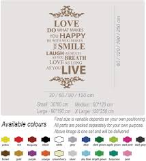 live love laugh family smile happy art wall quotes wall stickers live love laugh family smile happy art wall quotes wall stickers wall decals
