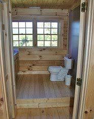 Plumbing For Basement Bathroom by Raised Floor In A Log Home Bathroom To Hide The Plumbing