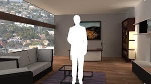 virtual set studio 142 for 4k is a living room
