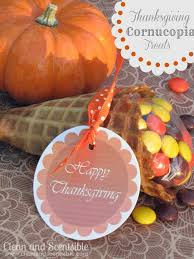 cornucopia thanksgiving treats for kids clean and scentsible