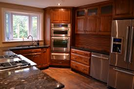 Kitchen Cabinet Plywood Steel Chrome Chandelier Wood Varnish Counter Top Plywood Laminated