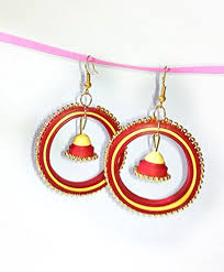 quiling earrings buy quilling earrings online at low prices in india