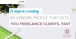 how to create an upwork profile that gets you clients fast