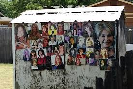 texas man posts pictures of female realtors on backyard shed time