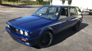 bmw e30 modified this restored 1988 bmw e30 touring is a beautiful classic wagon