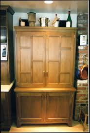 classy brown color wooden kitchen cabinets featuring wall mounted