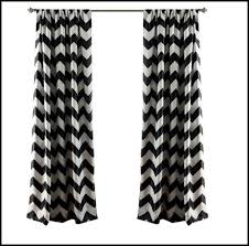 Black And White Blackout Curtains Black White Blackout Curtains Curtains Home Design Ideas