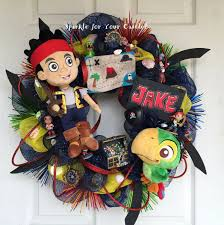 Neverland Map Jake And The Neverland Pirate Wreath New Designed Map