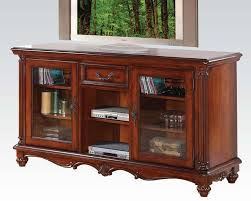 whalen brown cherry tv stand tv stands 50 75 inches wide