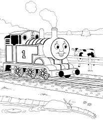 beautiful thomas train coloring pages for thomas the train