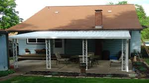 Metal Awnings For Patios Aluminum Patio Awnings For Home U2013 Outdoor Ideas