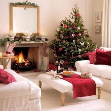 Christmas Living Room by Christmas Living Room Decor Golden Collection Elegant White