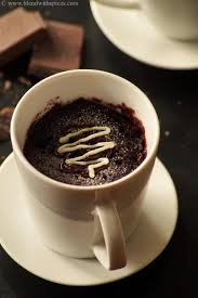 microwave eggless chocolate lava mug cake recipe how to make