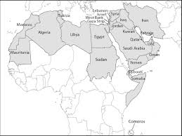 Middle East Country Map by Princeton Report Charts A Step By Step Path Toward A Nuclear