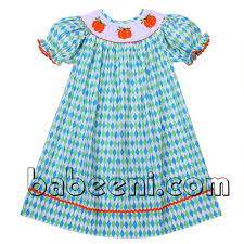 thanksgiving smocked clothing