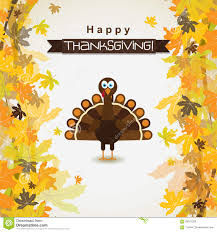 thanksgiving vector art template greeting card with a happy thanksgiving turkey vector