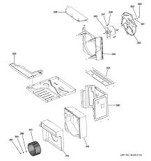 sears air conditioners window ge room air conditioner parts model ael14apl1 sears partsdirect