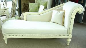 Wooden Frame Couch Furniture Elegant White Fainting Couch With Wood Frame And Cozy