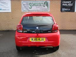 peugeot 108 second hand used peugeot 108 active red 1 0 hatchback somerset somerset