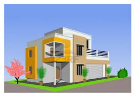 modern architectural house