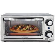 Hamilton Beach Toaster Oven Toast Reheat Bake Broil Stainless