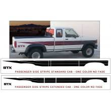 graphic express ford ranger truck stripes and decals