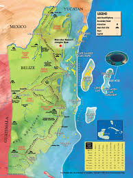 map of mexico yucatan region about belize information about belize central america
