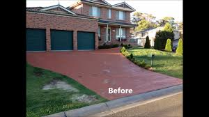 Flo Coat Concrete Resurfacer by Stamped Concrete Resurfacing Services Sydney North West Youtube