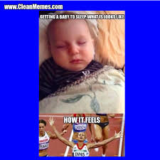 Funny Sleep Memes - getting a baby to sleep clean memes the best the most online