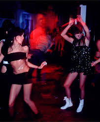 1980s new york club scene mudd club members on a visit to coney