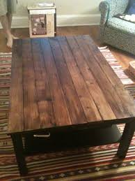 the feminist mystique diy rustic wood coffee table farm table