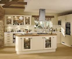 Extra Tall Kitchen Cabinets Burford Cream Kitchen Shaker Kitchens Howdens Joinery