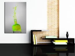 tableau de cuisine moderne tableau deco cuisine bouteille fluo décoration murale hexoa