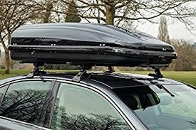 bmw 1 series roof bars summit roof bars pair of and 420 litre roof box to fit bmw 1