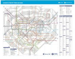 New York Tube Map by Here U0027s What The Tube And Rail Map Could Look Like Once Tfl Takes