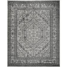White And Gray Rugs Amazon Com Safavieh Adirondack Collection Adr108a Silver And