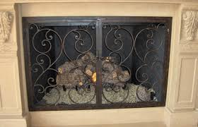 Baby Proof Fireplace Screen by Hand Forged Custom Fireplace Screens Noble Forge
