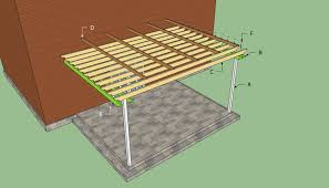 Attached Pergola Designs by Build An Awesome Pergola Design Attached To House U2014 All Home