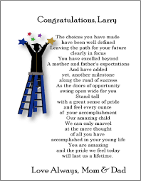 graduation poems for your daughter personalized graduation poems
